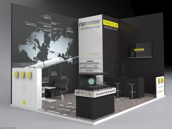 Messestand FIP Systems Innotrans